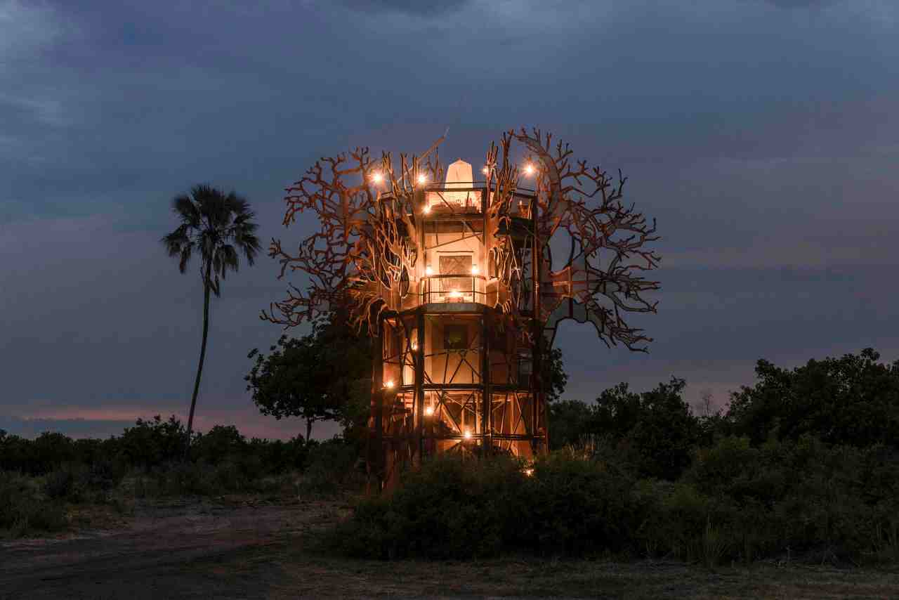 Now you can stay in a treehouse like noother
