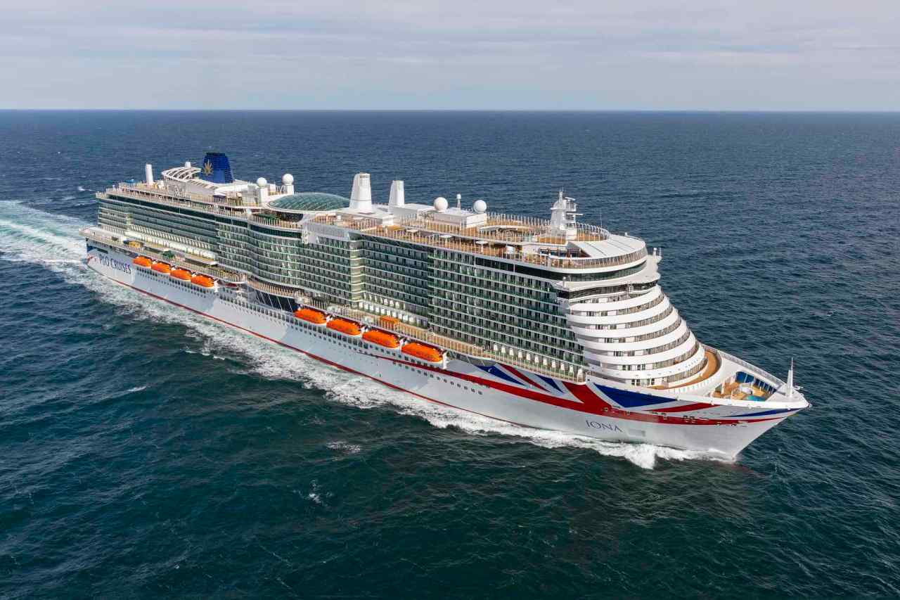 Bookings boom for P&O's first post Covidcruises