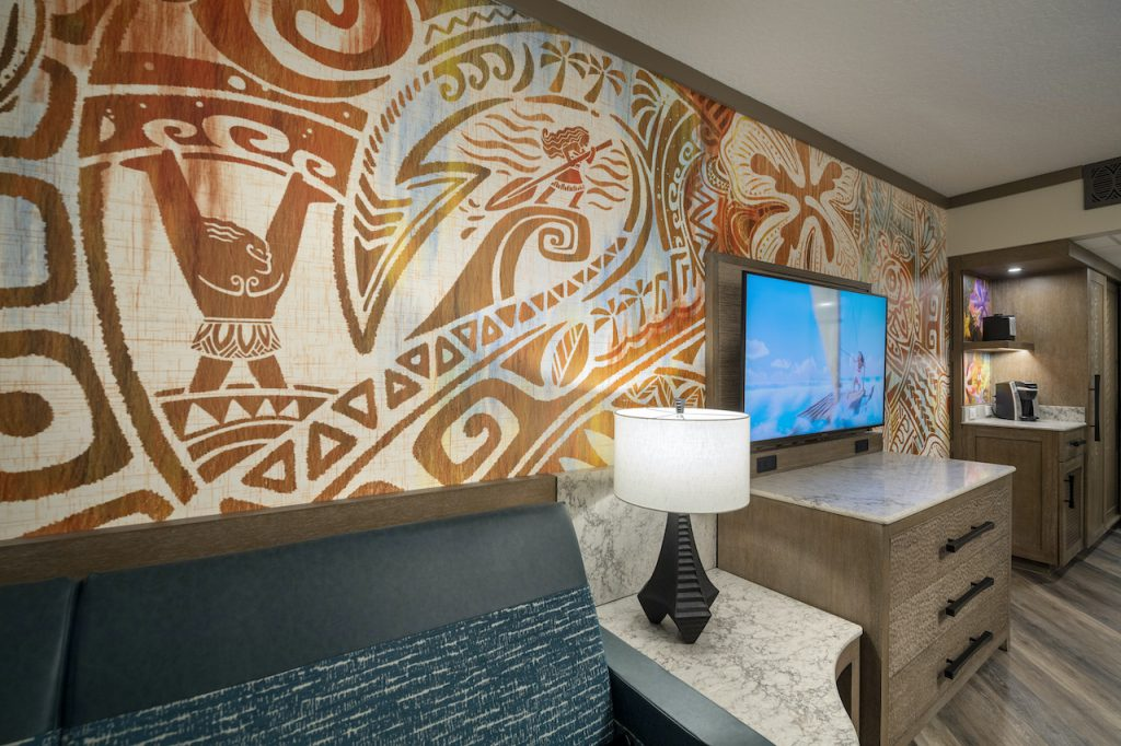 First look at Disney's new Moana hotelrooms