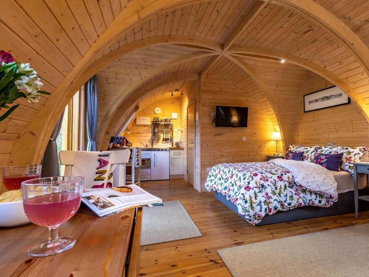 Hobbit holiday hideaways in the Cornishwoods