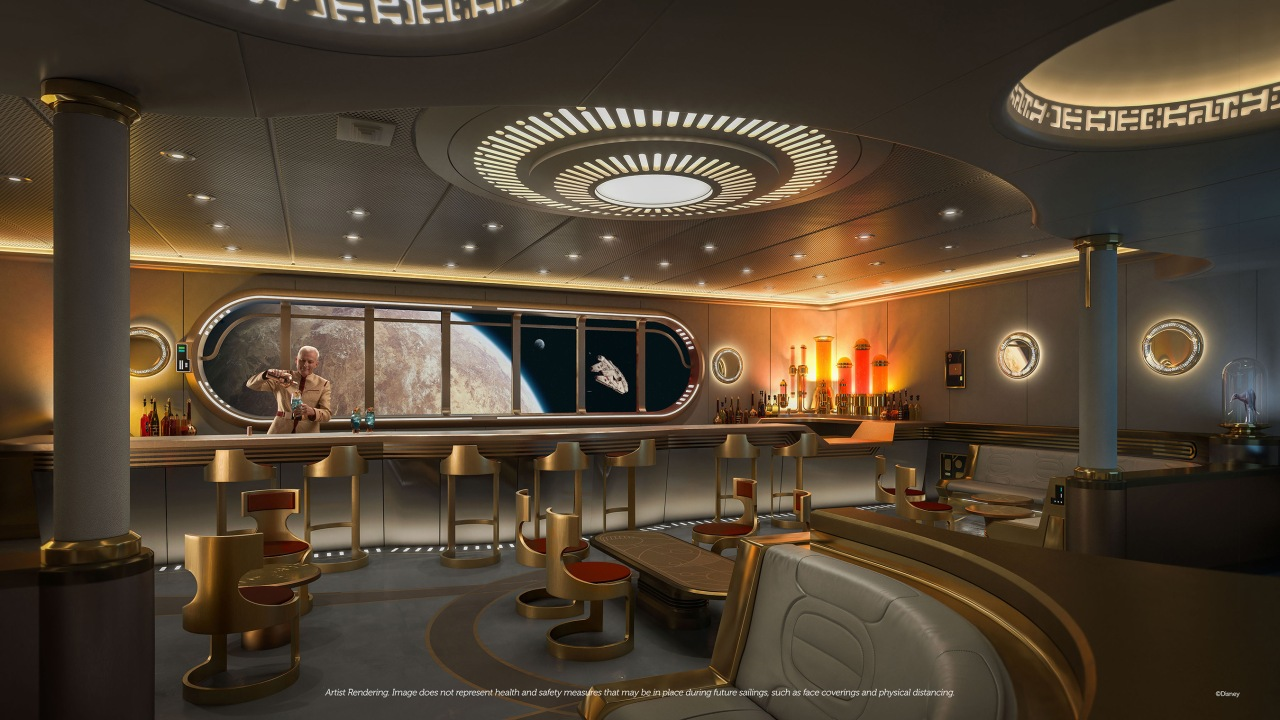 UPDATED: Star Wars cruise bar will offer iconic ship and locationviews
