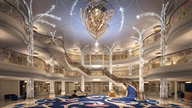 First look at Disney Wish cruise ship's magical GrandHall