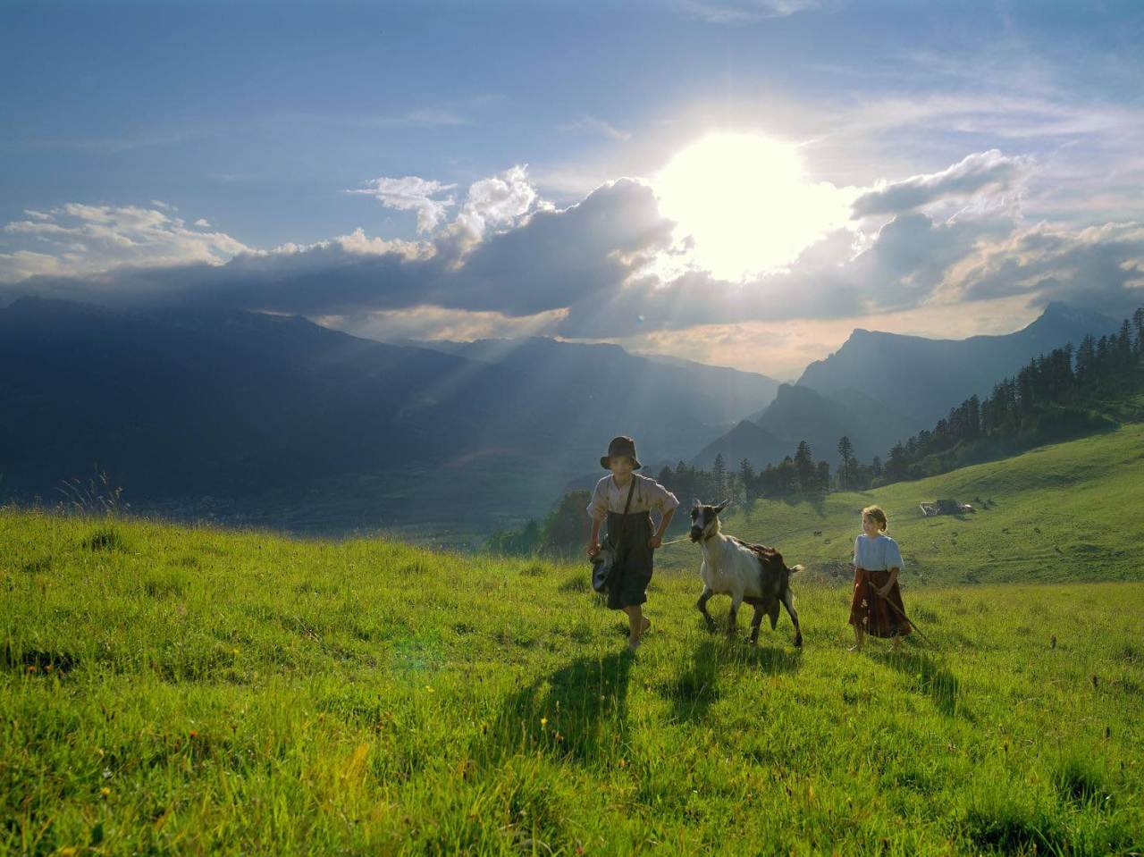 In the footsteps of Heidi – Switzerland celebrates 140 years of children's classic