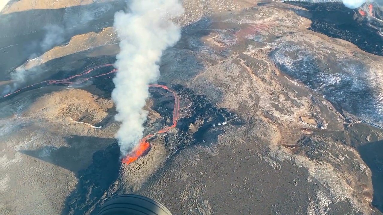 Guests get free unexpected flight 1,500ft above the Icelandvolcano