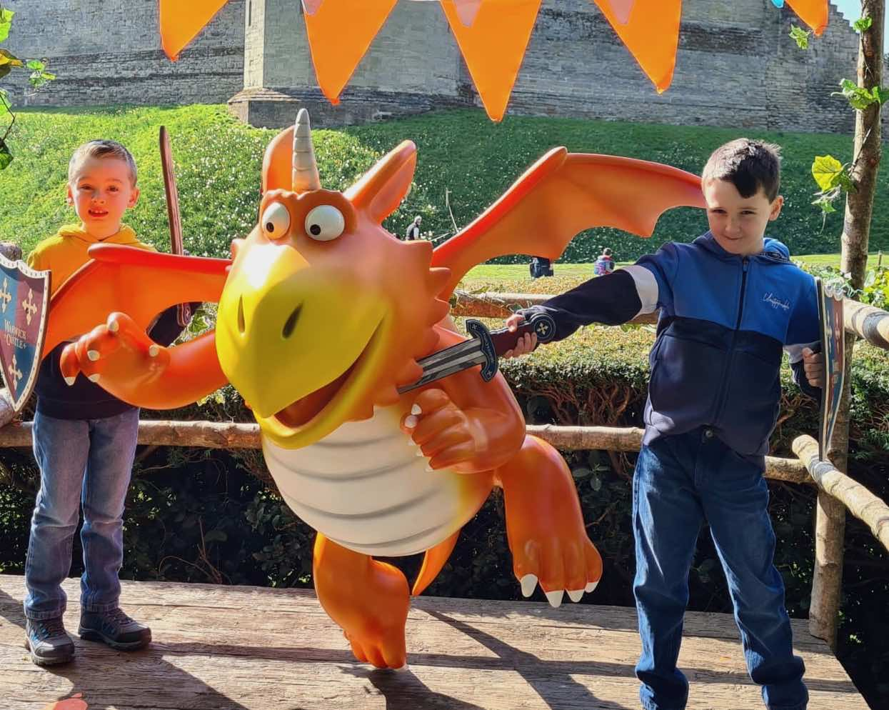 Warwick Castle's Zog and the Quest for the Golden Star –review