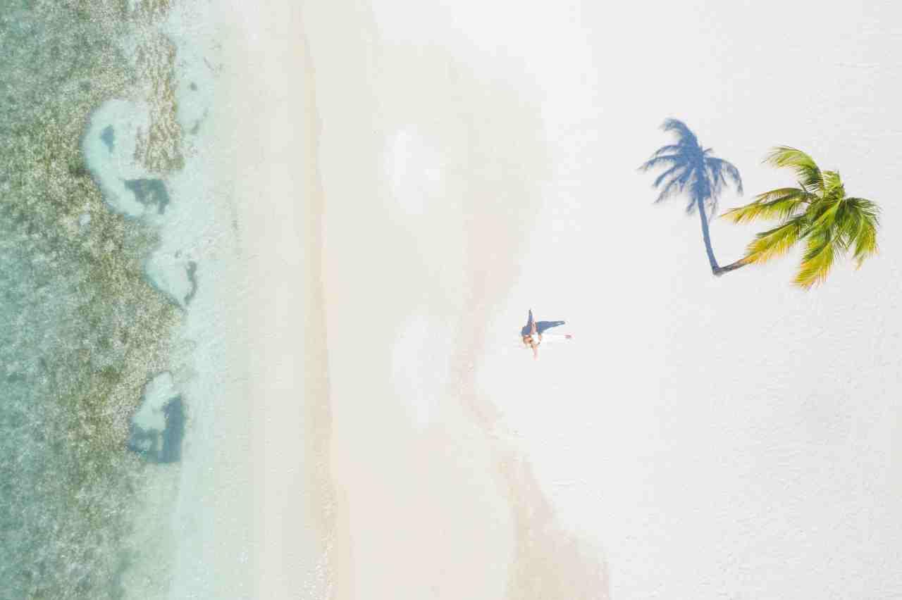 Stunning drone pictures spotlight private Caribbean island wellnessweek