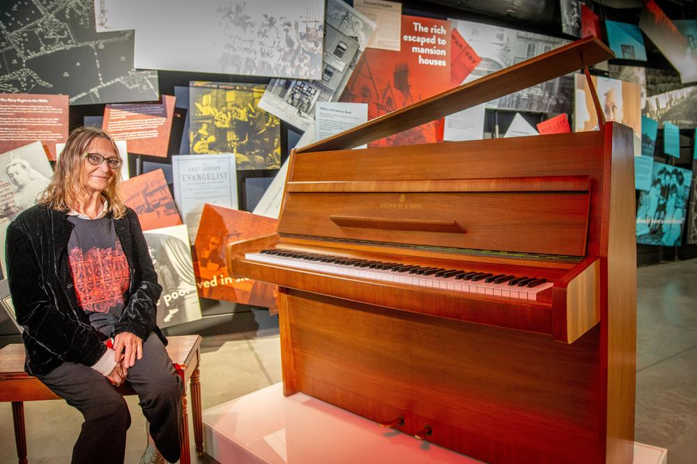 John Lennon's Imagine piano is star of real-life StrawberryField