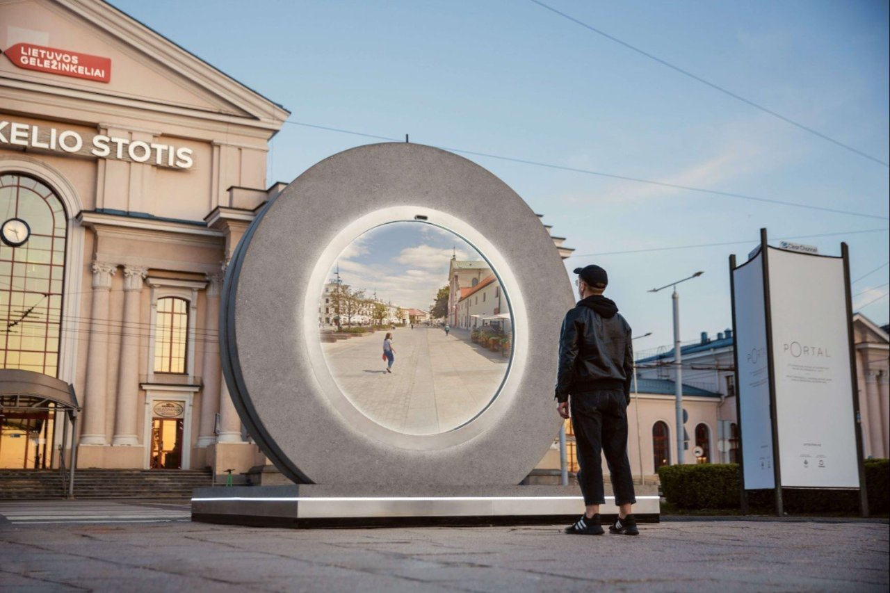 Real life portal uses Star Trek tech to link two Europeancities